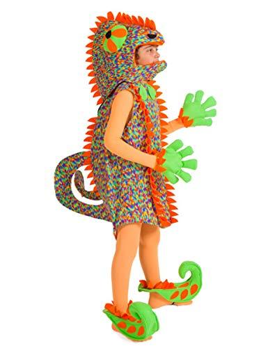 Disfraces Nines - Disfraz de camaleón infantil talla 5-7 años