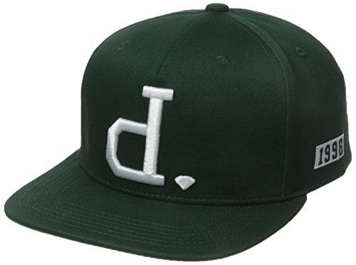 Diamond Supply Co. Men's Un Polo Snapback, Hunter Green, One-Size