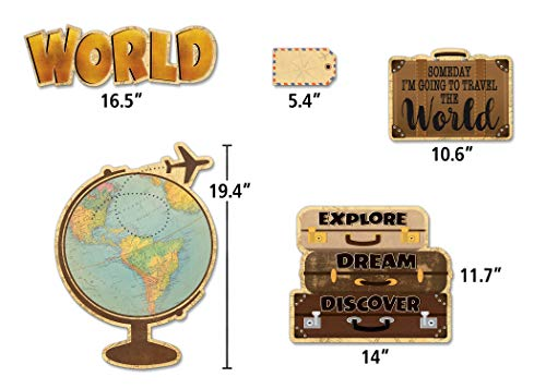 Teacher Created Resources Travel The Map Future World Changers Bulletin Board (TCR8623) Photo #3