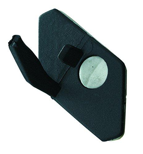 Herbertz Kunststoff-Pfeilauflage für Bogensport Messer, grau, M
