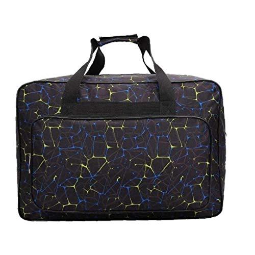 Waterproof Sports Gym Bag Compartment Travel Duffel Bag Large Capacity Adjustable Strip Bag Black