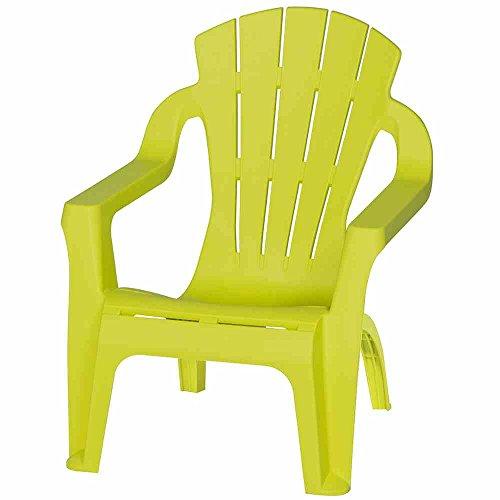 Progarden 6156 Mini-Selva Kinder-Deckchair, lime, 37 x 39.5 x 44.5 cm