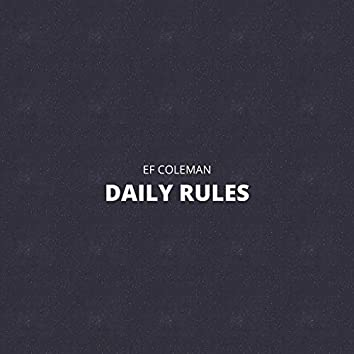 Daily Rules