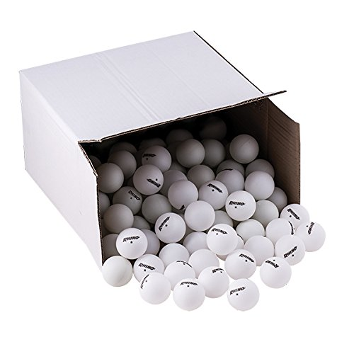 Champion Sports Recreational – Pelotas de Tenis de Mesa (1 Estrella), Bulk Pack de 144, Blanco