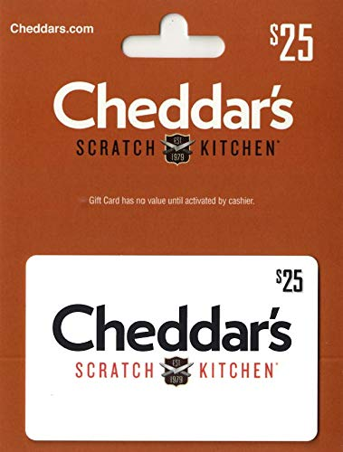 Amazon Com Cheddar S Scratch Kitchen Gift Card 25 Gift Cards
