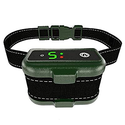 Bark Collar for Dogs - Effective K9 Professional Dog Bark Collar w/ Barking Detection - Rechargeable, Triple Anti-Barking Modes: Shock/ Vibration for Small, Medium, Large Dogs Breeds - IPx7 Waterproof from The Best Industries