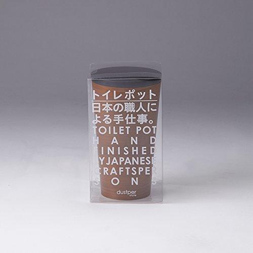 FUJIEI Corporation ダスパースタイル トイレポット チーク 1個 藤栄