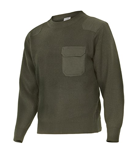 Velilla Serie 100 - Maglione (Taglie L) colore verde caccia