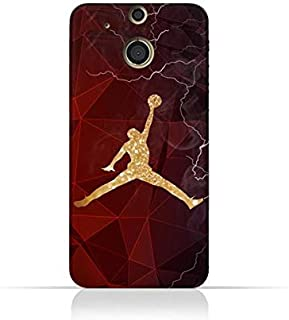 HTC One M8 TPU Silicone Protective Case with Jordan Air Design