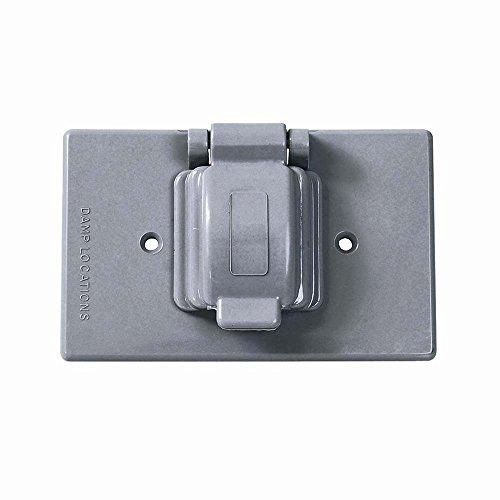 Surtek 136613 Placa de Plástico para Intemperie para Contacto Sencillo