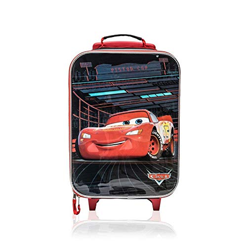 Disney Cars 16 Inch Kids Pilot Case Rolling Travel Luggage Carry on Approved