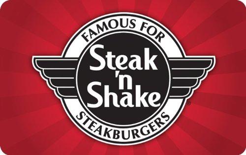 Steak 'N' Shake Gift Card $25