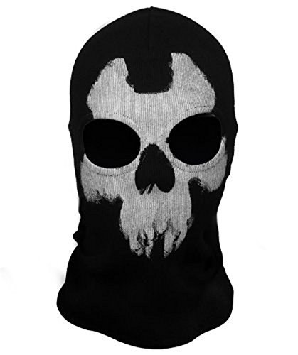 ChAmBer37 Cagoule Motif Call of Duty 10 Ghosts Balaclavas - Alex Ajax Johnson