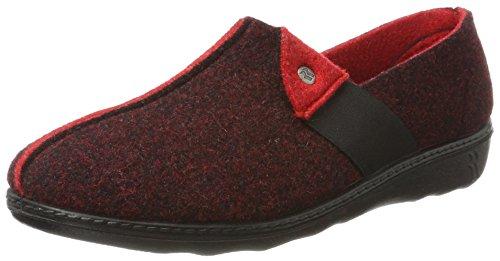 Romika Romilastic 126, Zapatillas de Estar por casa para Mujer, Rojo (Rot 54 400), 39 EU