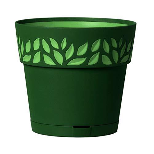 Stefanplast Pot de Fleurs Vert Sauge 25 x 25 cm