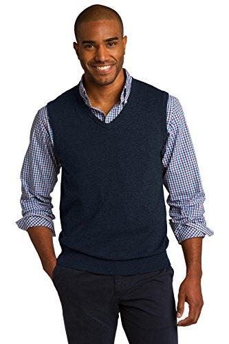 Port Authority® Sweater Vest. SW286 Navy L
