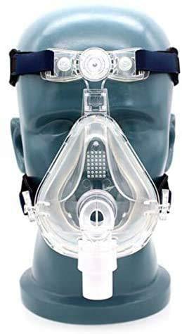 lensheny Vollmaske Universal Masken CPAP- Maske Schlafmasken mit frei verstellbarer Kopfbedeckung