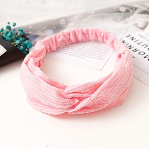 Dames-haaraccessoire met elastische haarband in vintage-stijl, zacht. 10 stuks.