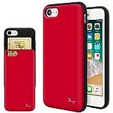 iPhone SE 第2世代 ケース iPhone8 ケース iPhone7 TPU バンパー Bumper 耐衝撃 カード入れ マット加工 ワイヤレス充電対応 スマホケース 擦り傷防止 保護フィルム Breeze 3DP 正規品 [I8JP201GB]
