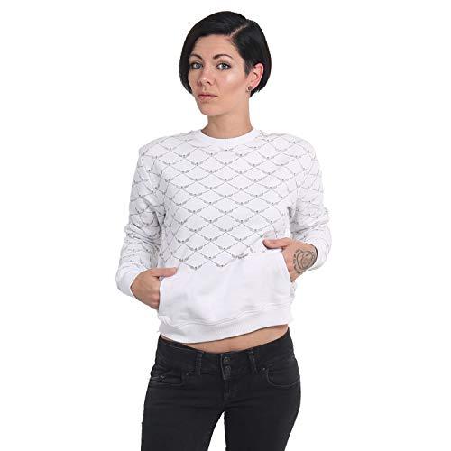 Yakuza Damen Memento Mori Pouch Sweater Pullover