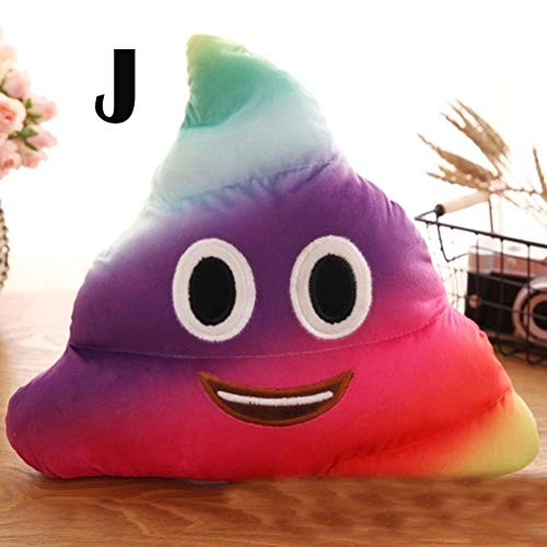 Creacom Nettes Poop Plüschtier, Kreatives Nettes Poop Plüschtier Kissen Kissen Home Bed Sofa Car Decor I