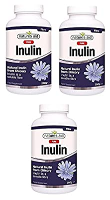Natures Aid Pure Inulin 250g (Pack of 3)