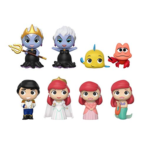 Funko - Figuritas Disney La Petite Sirene Mystery Minis - 1 Boîte Au Hasard / One Random Box -...