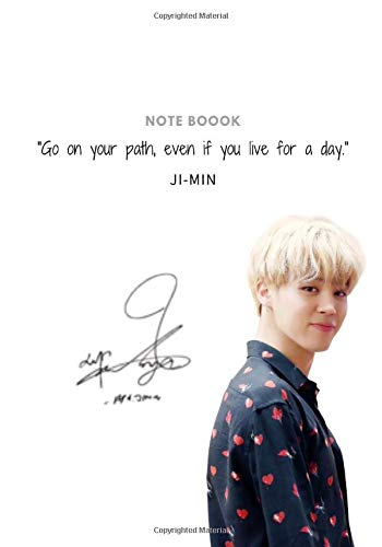 Jimin notebook and journal  for ARMY and KPOP lovers   ... Jin+ RM+JHope+Suga+V+ +Jungkook . book 7*10 po - 100 page white a beautiful design bt: ... ... Jin+ RM+JHope+Suga+V+ +Jungkook . book 7