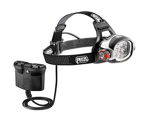 PETZL - ULTRA RUSH BELT Headlamp, 760 Lumens, Constant Lighting, with ACCU 4 Battery