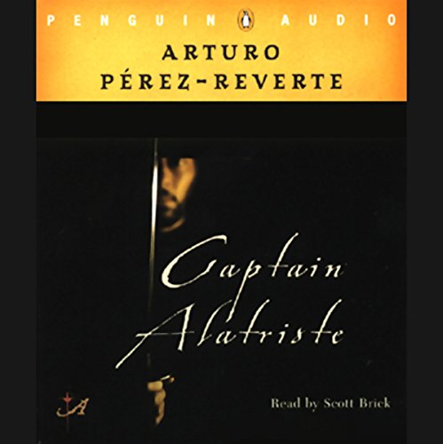 Captain Alatriste audiobook cover art