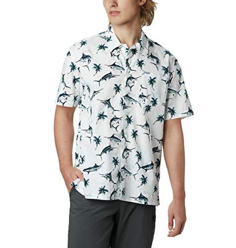 Columbia Camiseta de Manga Corta para Hombre Troller Best™, Hombre, 1438981, Impresión...