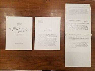 The New York Review of Bird Harlan Ellison SIGNED Typescript w Notes 1975