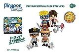 Famosa- PinyPon Action Pack 2 Figuras 22x20 cm, Multicolor, 22 x 20 cm (700014492)