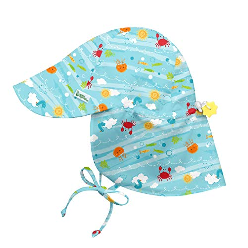 i play. by green sprouts Baby Boys' Flap Hat | All-Day UPF...