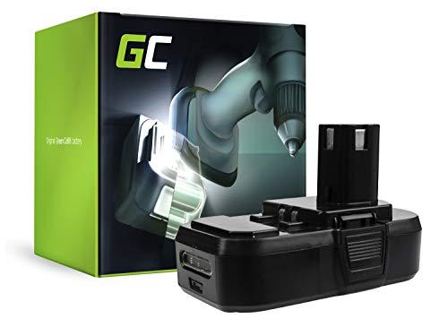 GC® (2.5Ah 18V Li-Ion celdas) Batería para Ryobi P205 de Herramienta Eléctrica