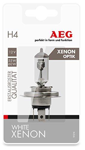 AEG Automotive 97278 Ampoule blanche Xenon Plus H4, P43t, 60/55 W, 12 V, 1 pièce