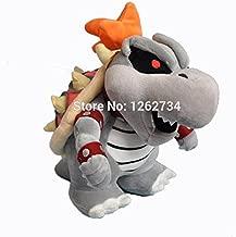 (Apr)- Super Mario 3D Land Plush Doll Figure Dry Bones Bowser Koopa 10