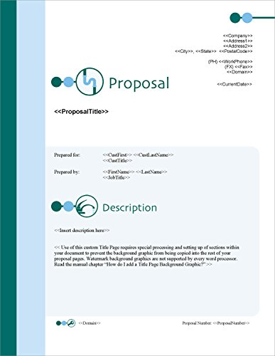 Proposal Pack Plumbing #1 - Business Proposals, Plans, Templates, Samples and Software V18.2