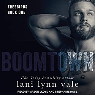 Boomtown audiobook cover art