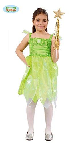 Disfraz de Hada del Bosque Verde Para Nia