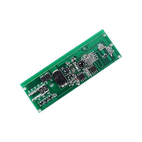 SHANG-JUN Fácil de Montar Microondas Radar inalámbrico Interruptor del Sensor del módulo DC 3.7V 20W 30s Retardo 3pcs de Seguridad Control de luz Solar Conveniente