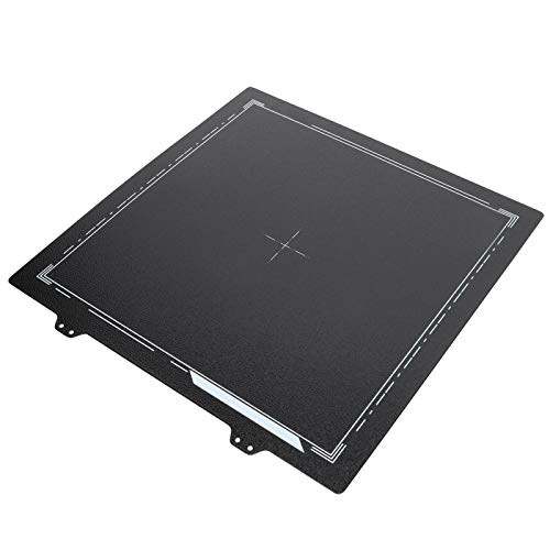 Accesorios magnéticos para impresoras 3D Hoja de Acero Hoja de Acero Pei para impresoras 3D Cama Caliente para 9 Piezas Pegatinas magnéticas para Prusa I3 MK3