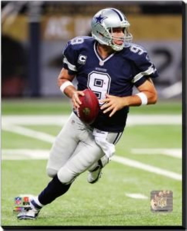 Dallas Cowboys Tony Romo 2014 Action 40x50 Stretched Canvas