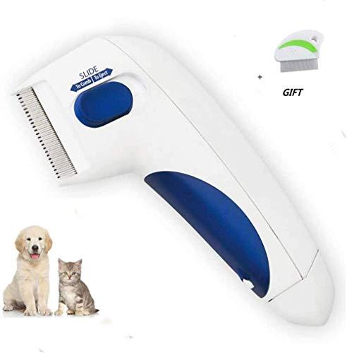DDH Use peines para Perros, elimine los piojos con cepillos eléctricos, pulgas...