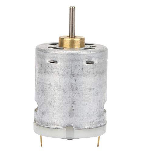 DC12 V 365 micromotor, 11,5 mm mini-motor, hoge snelheidsgolflengte voor het verwijderen van vonken en voor de onderdrukking van geluiden voor doe-het-zelf speelgoedmodellen voor elektrisch