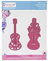 Dress My Craft Dies-Floral Guitar