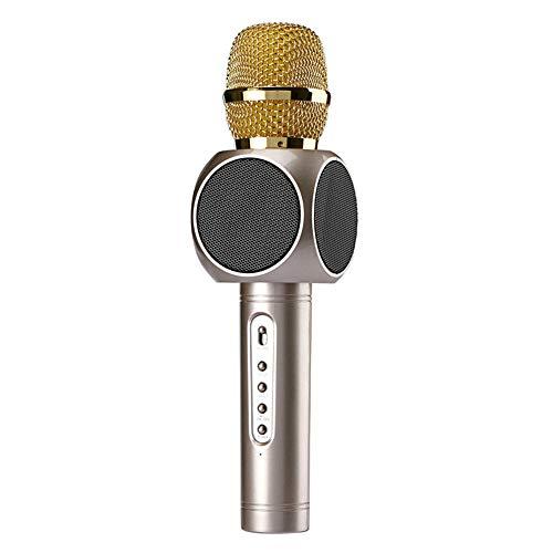 AILSAYA draadloze Bluetooth karaoke-microfoon, draagbaar 3-in-1-karaoke-systeem luidspreker voor draagbare speler Apple iPhone Android smartphone of pc, Home KTV Party in de vrije natuur Muisc spelen zingen