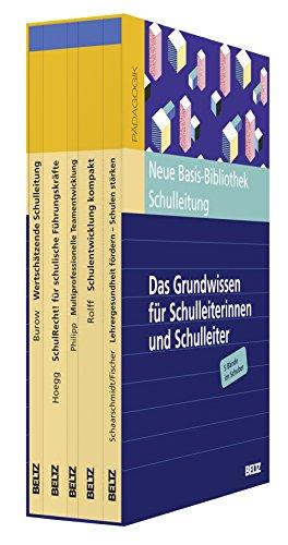 Neue Basis-Bibliothek Schulleitung: Das Grundwissen für Schulleiterinnen und Schulleiter. 5 Bände im Schuber