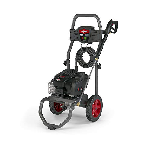 Briggs & Stratton 2200 MAX PSI at 1.9 GPM Gas Pressure Washer with 25-Foot EZ Flex Hose, 3 Quick-Connect Nozzles, Powered by Briggs & Stratton