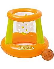 Intex Basket Swimming Floating Hoops Basketball Game, Multi-Colour, 58504